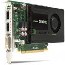 NVIDIA Quadro K2000 2GB PCIe x16 DisplayPort DVI Kepler GPU Graphics Adapter Ref