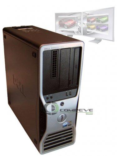 Dell Precision 490 Dual Core Xeon CPU 2.3GHz 4GB 80GB Computer PC Back To School