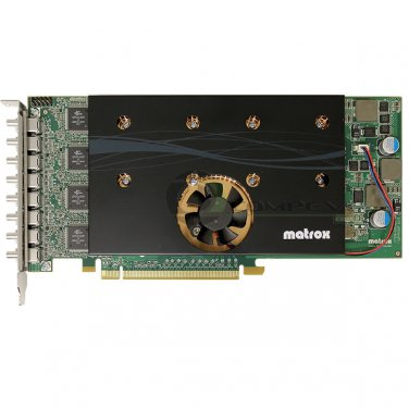 Matrox M9188 2GB DDR2 PCIe x16 Mini DP Octal Graphics Video Card M9188-E2048F