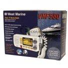 WEST MARINE VHF580 Fixed Mount VHF Radio Class D DSC Position JIS8 13790837