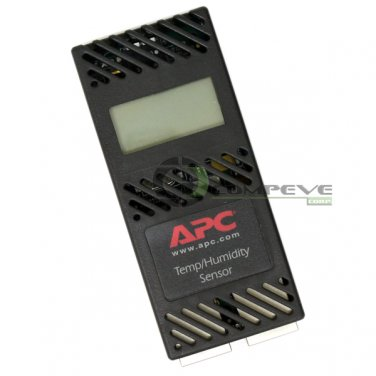 APC AP9520TH Temperature Humidity Sensor w/ Display Monitors Network Data Center