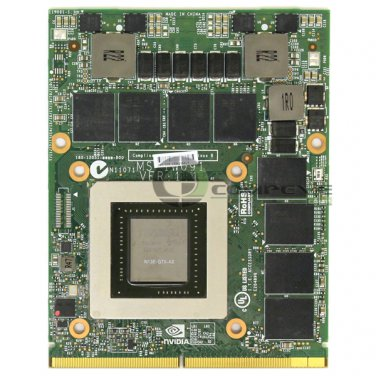 Nvidia GeForce GTX 680M 2GB MXM Mobile Graphics Card N13E-GTX-A2 M18xR2 M17xR4