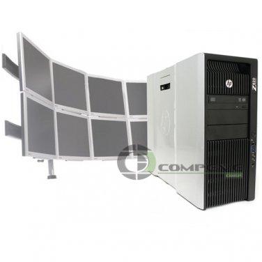 Trading 8 Monitor HP Z820 Video Wall E5-2640 2.5 GHz 2x250GB HDD 2x NVS 510 Win7