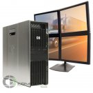 HP Z600 Desktop PC 4 monitor support 6GB 250GB Win7 for Dispatching Logistics