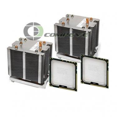 Dell Precision 490 Computer Upgrade kit 2x Heatsinks w/ 2x 5150 2.66GHz CPU's