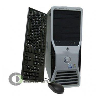 Dell Precision T3400  Intel Quad Core 2.40GHz 1TB 8GB Computer/ Workstation