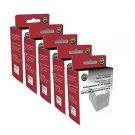 Lot of 5 Dataproducts Panasonic KX-P160 Printer Ribbon for KX-P2130 Top Quality