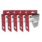 Lot of 5 Epson Remanufactured T048120 Black Ink Cartridge for Stylus Photo R200