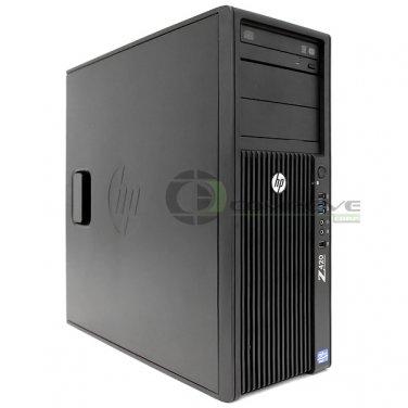 HP Z420 Desktop /  PC Intel E5-1650 3.2GHz 24GB 1TB HDD Nvidia Quadro 400 Win 7