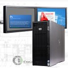 HP Z800 Computer 48GB RAM 256GB SSD + 4 TB K5000 PC for 3D Modeling Rendering