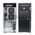 HP Z820 Workstation J5C75UP E5-2687WV2 32GB RAM 256GB SSD 1TB HDD K4000 Win 7