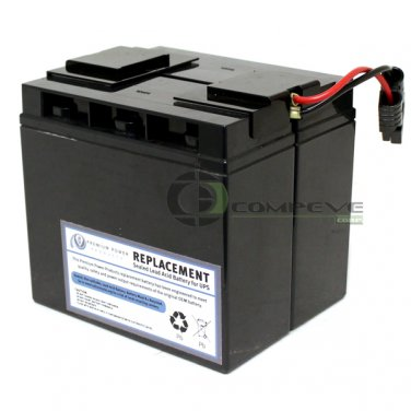 eReplacements SLA7-ER UPS Battery Cartridge APC RBC7 for SU1400 SMT1500 SU700XL#