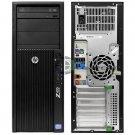 HP Z420 Desktop/ Workstation Intel E5-1650 3.2 GHz/12GB RAM /256GB SSD HDD /Win7