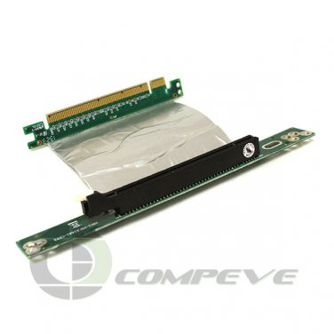 Riser Card ARC1-PELX16A1-CX 7cm Ribbon PCIe RoHS Right-angled Female to Male