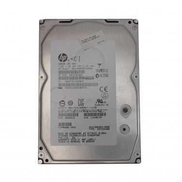 HP/Hitachi 300GB 15K SAS 623389-001 6Gbps 64MB
