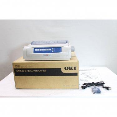 OKI Microline 420n 120V 9-Pin 570CPS Ethernet Printer 62418703