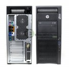 HP Z820 Workstation F3A09US E5-2665 32GB RAM 600GB HDD K5000 Win10