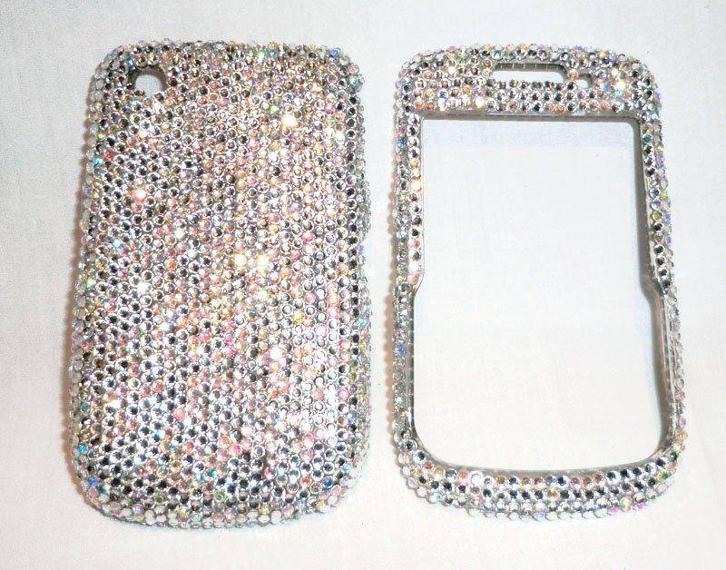 Rhinestones Blackberry Curve 8530 bling bling faceplate