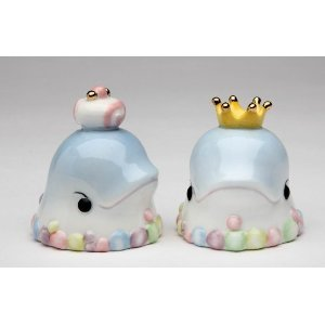 Dolphin King and Queen Salt and Pepper