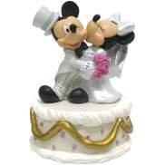 Disney Mickey & Minnie Mouse Wedding Musical Figurine