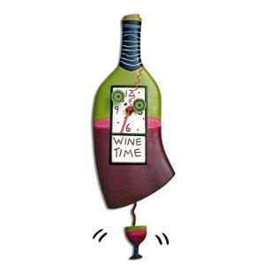 MICHELLE ALLEN Wine Time Clock