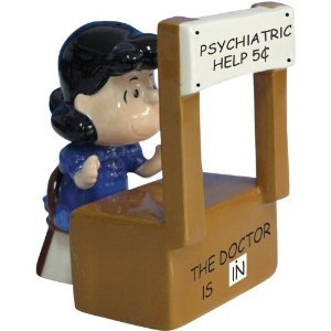 Peanuts Magnetic Psychiatrist Lucy Salt and Pepper