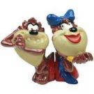 Looney Tunes Taz Tasmanian In Love Salt Pepper