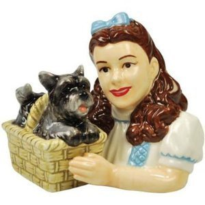Wizard of Oz Dorothy and Toto Salt and Pepper