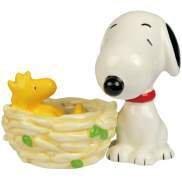 Peanut Snoopy and Woodstock Nest Salt Pepper