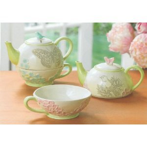 Grasslands Road Ambiance Bird and Butterfly Tea for One Bird or Butterfly