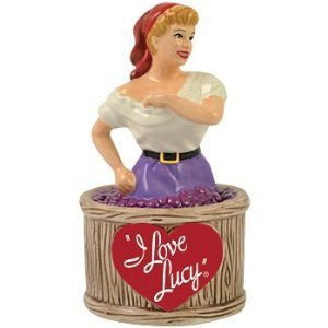 I Love Lucy - Lucy Grape Stomping Salt & Pepper