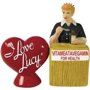 I Love Lucy - Lucy Vitameatavegamin Salt and Pepper