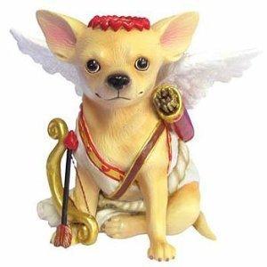 Aye Chihuahua Cupid Dog Figurine