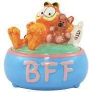 """Garfield """"Best Friend Forever"""" Trinket Box"""