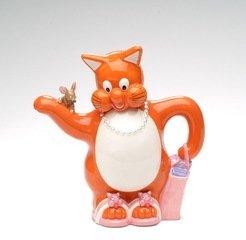 Shopping CAT and Mouse Tea Pot