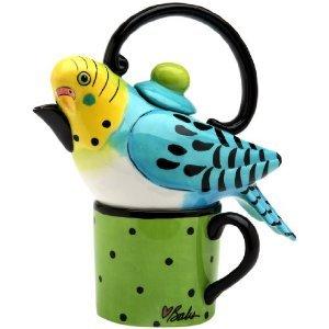 Blue Parakeet Tea For One