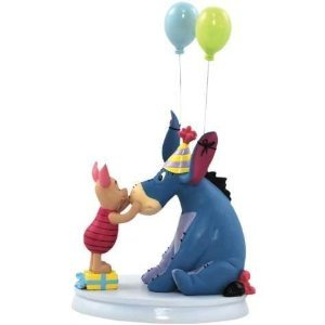 Disney -Life According To Eeyore - Happy Birthday Eeyore and Piglet Figurine