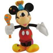 Disney Happy Birthday Mickey Mouse With Birthday Present Figurine Or Cake Topper