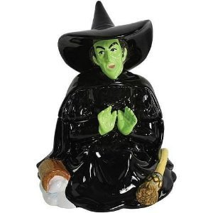Wizard Of Oz Wicked Witch Melting Cookie Jar