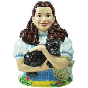 Wizard Of Oz Dorothy and Toto Cookie Jar