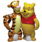 Life According to Eeyore~ Pooh and Tigger Hugging Magnetic Salt and Pepper