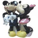 Mickey InspEARations Retro Kissing Mickey and Minnie Magnetic Salt and Pepper