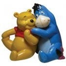 Life According to Eeyore~ Pooh and Eeyore Hugging Magnetic Salt and Pepper