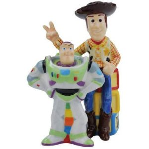 Disney Pixar Toy Story Buzz and Woody Salt Pepper
