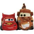 Disney Pixar Car Lightning McQueen and Mater Salt and Pepper Shakers