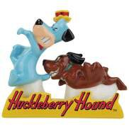 Hanna Barbera - Huckleberry Hound and Dog In Tray Salt and Pepper