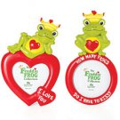 """I Love You"" Frog King and Queen Photo Frame (Set of 2) Home Decor"