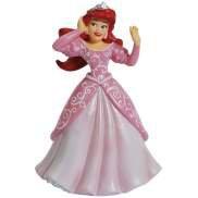 Disney Life According To Princess Mermaid Ariel in Gown & Crown Mini Figurine