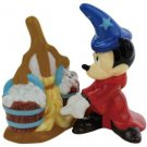 Mickey InspEARations Fantasia Mickey Mouse with Broom Salt and Pepper