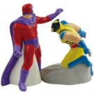 Marvell Wolverine vs Magneto Salt and Pepper Shakers